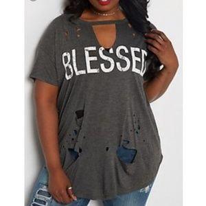 Rue21+ 3x blessed tshirt